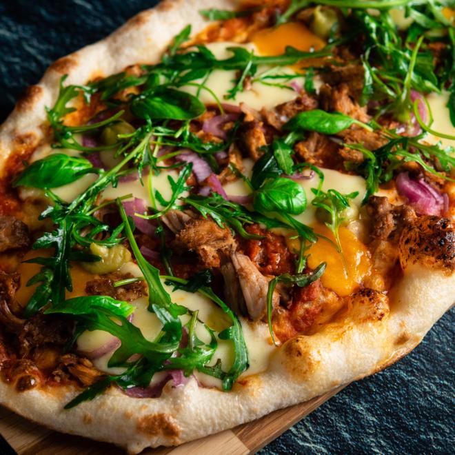 Krõbe Itaalia pitsa